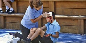 common accidents at school