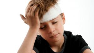 child injury at school